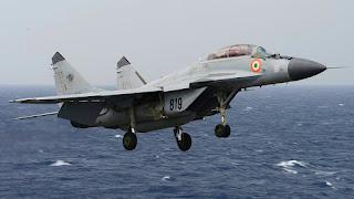 MiG-29K milik Angkatan Laut (AL) India