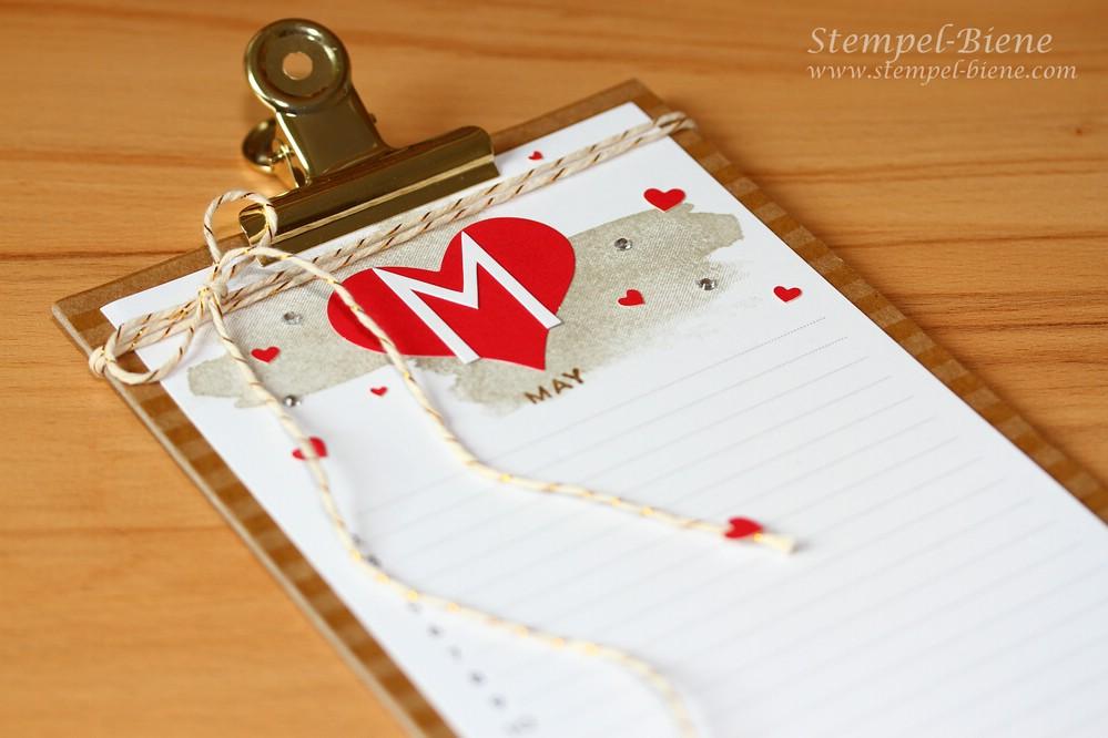 Projektset Kalenderkunst, Stampin Up Kalender, Perpetual Birthday Kalender, Stampin Up Jahreskatalog 2016 bestellen, stempel-biene