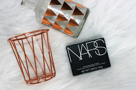 Lifestyle Lieke: Review | NARS Miss Liberty highlighter