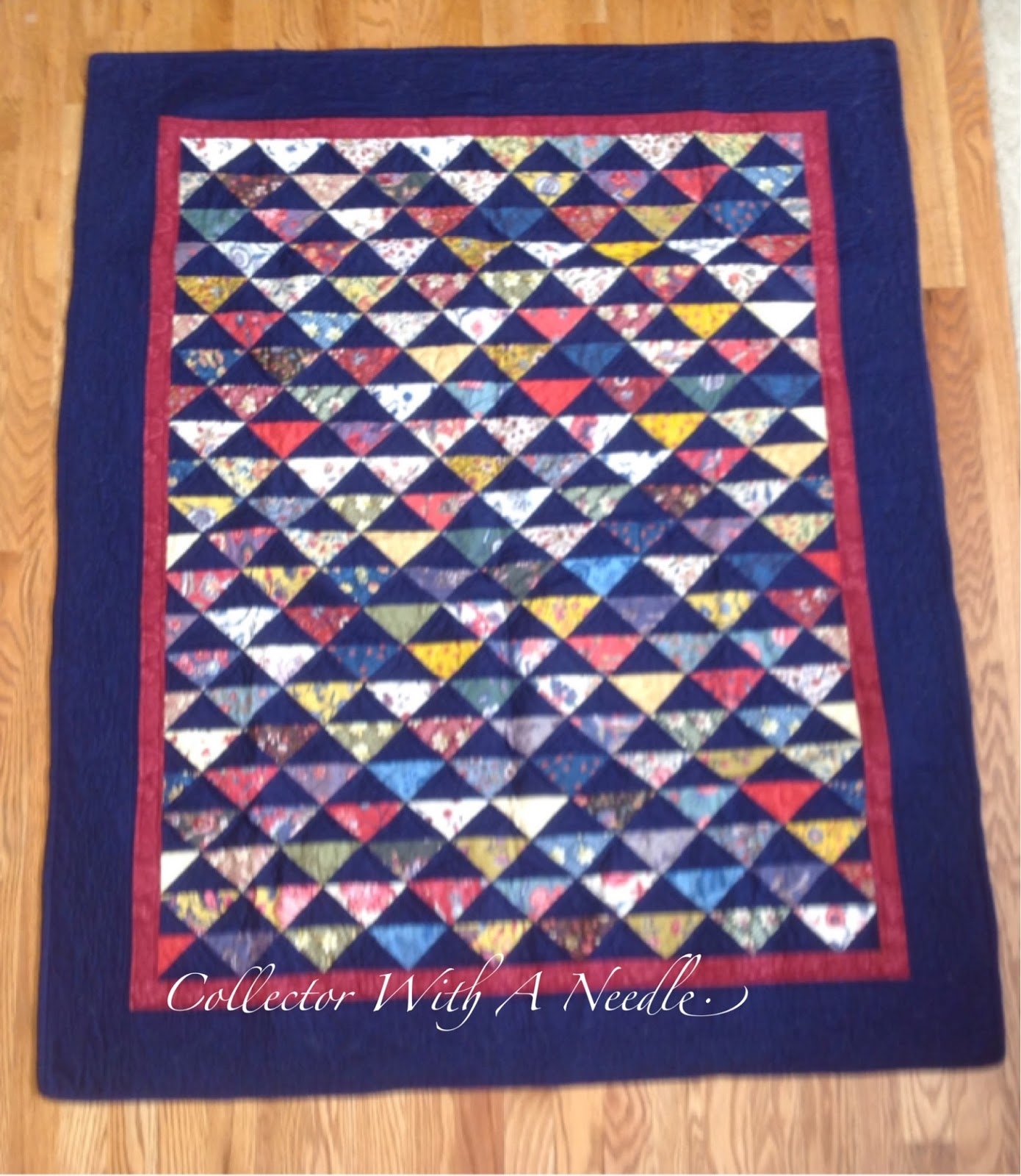 An Moonen Quilts.Collector With A Needle Dutch Quilt Reproductions