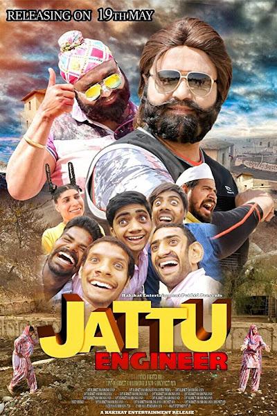 Poster of Jattu Engineer 2017 (Ram Rahim) Full Movie 720p DVDRip ESubs Download