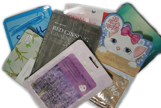 Mask Week: Dermal, Skin Lite, Sasatinnie, Etude House, Dewytree, Nature Republic, The Face Shop
