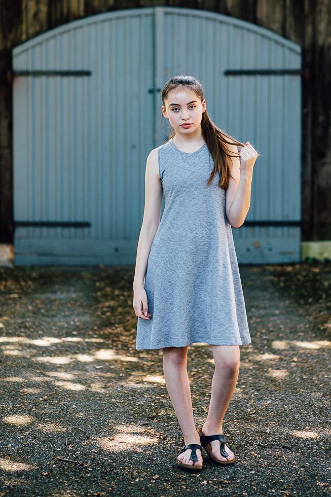 Schnittmuster kleid lycka