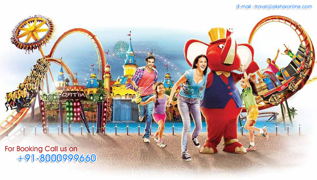 India's first and only family holiday destination from Mumbai and Pune, Adlabs Imagica is the perfect weekend getaway which includes an International Standard Theme Park, a Waterpark, a Snowpark and a 287 room hotel.      Theme Park  Month  Type  Date  Adult  Child  Sr.Citizen  College Students  May-18  Hpy Tue  1/8/15/22/29  999  999  999  999  Super Peak  2/3/4/5/6/7/9/10/11/12/    13/14/16/17/18/ 19/20/21/23/  24/25/26/ 27/28/30/31  1,899  1,499  999  999  Weekday  NA  Weekend  NA  Jun-18  Hpy Tue  5/12/19/26  999  999  999  999  Super Peak  1/2/3/4/6/7/8/9/10/  11/13/14/15/16/17  1,899  1,499  999  999  Weekday  18/20/21/22/25/27/ 28/29  1,299  1,099  699  999  Weekend  23/24/30  1,899  1,499  999  999  Super Peak  1/2/3/4/5/7/8/9/10/11/  12/ 14/15/16/17  999  799  599  699  Weekday  18/19/21/22/25/  26/ 28/29  899  799  599  699  Weekend  23/24/30  999  799  599  699        Water Park        Month  Type  Date  Adult   Child   Sr.Citizen  College Students  May-18  Wat-A-Wed  2/9/16/23/30  599    599  599  599  Super Peak  3/4/5/6/7/8/10/11/12/13/  14/15/17/18/19/20/21/  22/ 24/25/26/27/28/29/31  999  799  599  699  Weekday  NA        Weekend  NA        Jun-18  Wat-A-Wed  6/13/20/27  599    599  599  599    NOTE:  No.  Broad Closures  1  Child: 5 - 12 years of age  2  Adult: 12 years and above  3  Sr. Citizen: 60 years and above  4  Infants: Under the age of 3 and not required to purchase a Park ticket  5  Express Mechanism :  THEMEPARK  1. Alibaba aur Chaalis Chorr; 2. D2 - Dare Drop; 3. Deep Space; 4. Gold Rush Express; 5. Mr. India – The; Ride; 6. Curse of Salimgarh; 7. Scream Machine; 8. Rajasaurus River Adventure; 9. I for India; 10. Wrath of The Gods; 11. Cinema 360 Prince of The Dark Waters; 12 Nitro     WATERPARK  1.Loopy Woopy; 2. Raftaastic; 3. Swirl Whirl; 4. The Screamer; 5. Twisty Turvy; 6. Yell-O; 7. Zip Zam Zoom                              Also available imagica PASSPORT - Now Live Online &  Special  packages + hotels     18% GST APPLICABLE ON ABOVE RATES    OFFERS    Friends & Family Rewards at Imagica Book 10 or more tickets and save 15% at Theme Park and Water Park tickets  Early Bird offer – Book 15 days in advance and Save Flat 15%. Details are given below Be smart & book in advance. Early Bird offer saves you upto 20%  Friends & Family Rewards Book 5 or more tickets and save up to 15% Offer not valid on alredy offer day like Tuesday/wendsday.  Happy Tuesdays Enjoy Imagica Theme Park every Tuesday with tickets starting at  999 only.  Wat-A-Wednesday Enjoy Imagica Water Park every Wednesday with tickets starting at  599 only.  Ghar Se Ghar Tak Travel Packages Save  on all-inclusive packages  A new surprise every weekend Exclusive offers for Theme Park - only valid for this weekend!  Gift a Magical Experience Accepted on tickets, F&B and merchandise  Imagica Passport Save on 2 visits + get 2 visits free + exclusive discounts  Imagica Ticket, Ticket booking in ahmedabad, imagica Ticket, WaterPark Ticket, Imagica, imagica ticket at best price, akshar infocom, TRAVEL AGENT IN GHATLODIA, travel agent in science city, travel agent in sola, travel agent in ahmedabad, air ticket booking center in ahmedabad, air ticket chip, hotel booking, tour package in ahmedabad, 9427703236, 8000999660, akshar infocom International Air Tickets || Domestic Air Tickets || Cruise Booking || International& Domestic Packages || Hotel Booking World Wide ||  Visa Services || Passport Services || Overseas Travel Insurance || Railway Ticket || Bus Ticket ||  Car Rental || Foreign Exchange || Western Union & Transfast Money Transfer Services & More...  Ground Floor-11, Vishwas Shopping Center Part-1, R.C.Technical Road, Ghatlodia, Ahmedabad - 380061. Contact No.: 8000999660, 9427703236, 9408669502 E-mail : travel@aksharonline.com, info.akshar@gmail.com