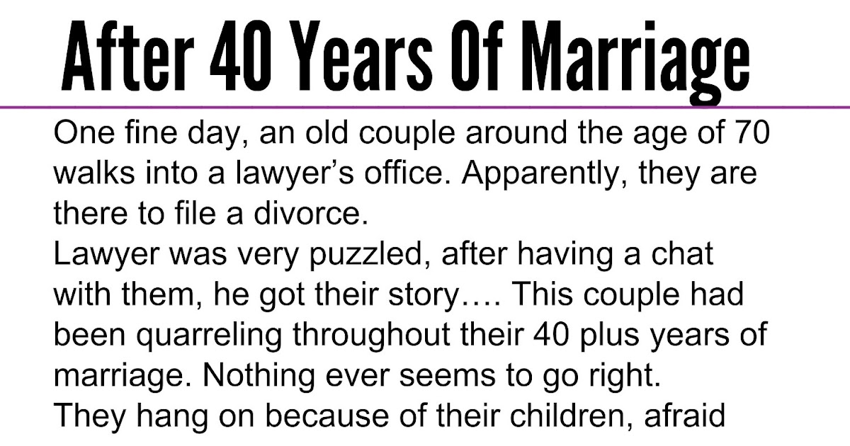 dating after 40 years of marriage
