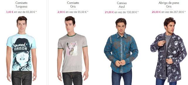 ropa hombre custo bcn