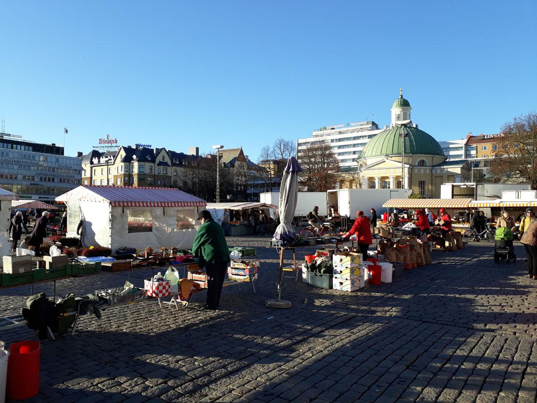 Il mercato a Turku