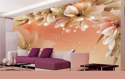 3D wallpaper for living room interior design 2019 (3)