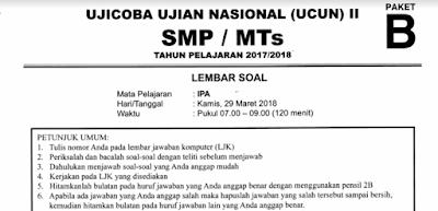 Prediksi UN/UNBK SMP 2019 Pdf
