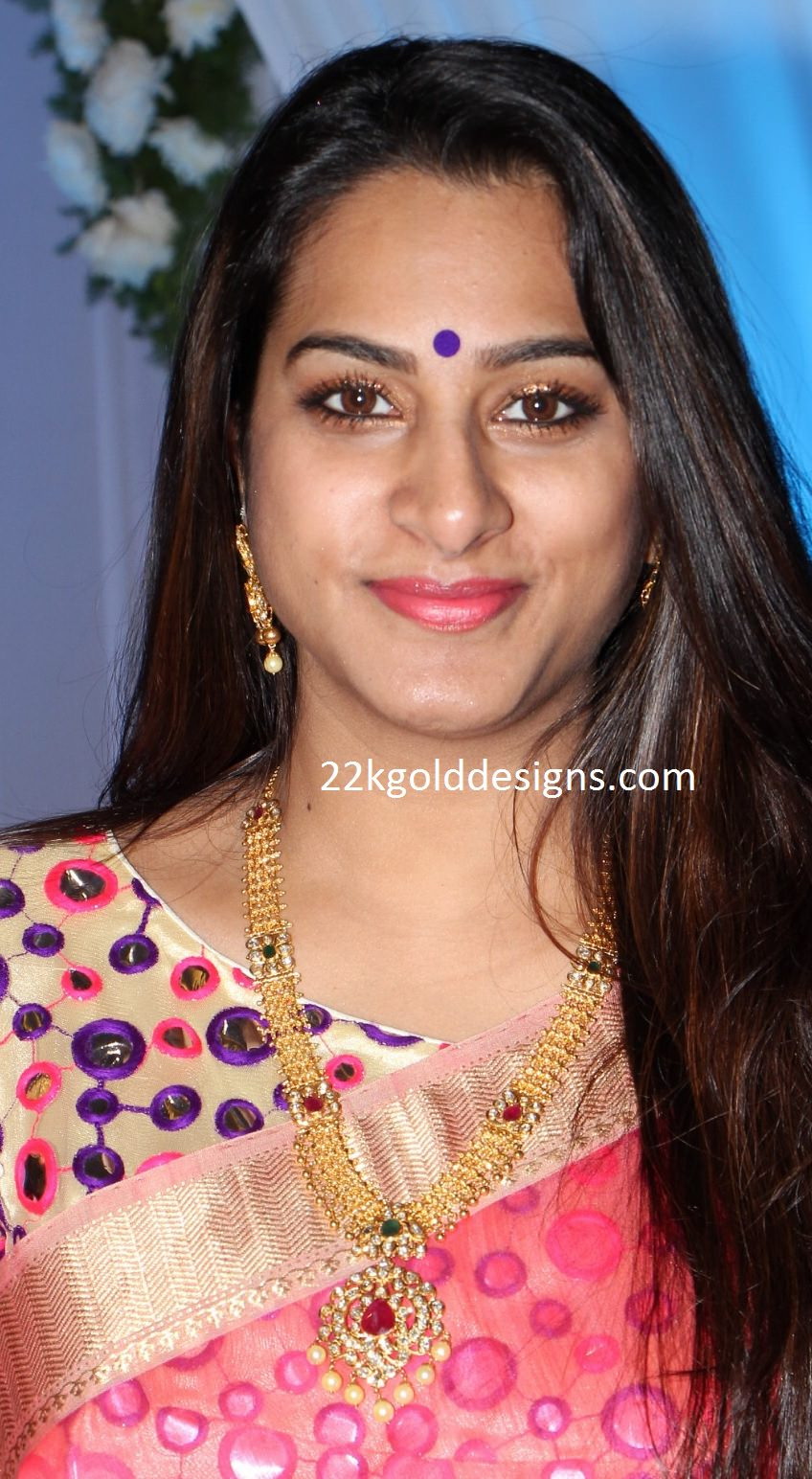 Surekha Vani in Pachi Gold Jewellery