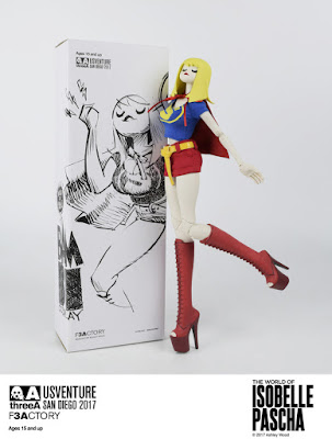 San Diego Comic-Con 2017 Exclusive Supergal Bambi Cosplay 1/6th Scale Collectible Figure by 3A x Ashley Wood