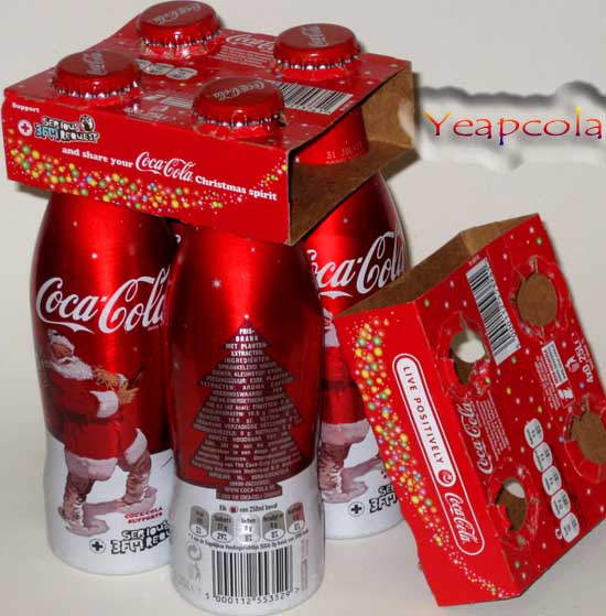 Yeapcola's Coca Cola Collection: Coca Cola Aluminium Bottle
