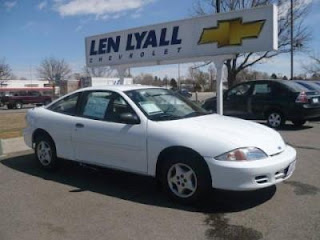 2000 Chevrolet Cavalier Where is the Location of the Fuel