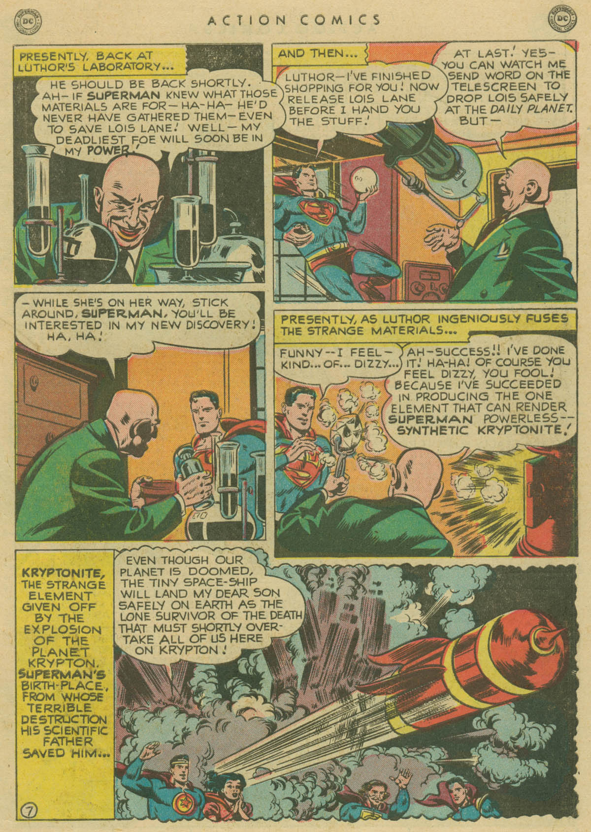 Read online Action Comics (1938) comic -  Issue #141 - 8