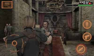 Resident Evil 4 Mod APK+Data Full Hack (Unlimited Ammo)