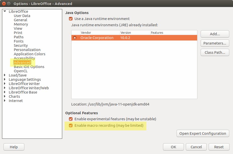 Ubuntu Buzz !: Macro in LibreOffice Made Easy