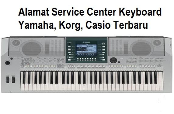 Alamat Service Center Resmi Keyboard Yamaha Korg Casio