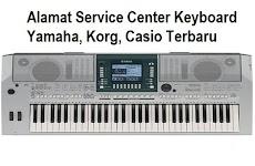 Alamat Service Center Resmi Keyboard Yamaha , Korg, Casio  Dan Distributor Roland Terbaru