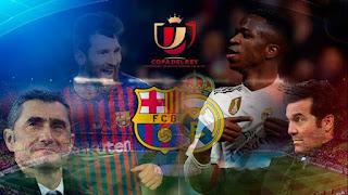 اون لاين مشاهدة مباراة برشلونة وريال مدريد بث مباشر اليوم 06-02-2019 كاس ملك اسبانيا اليوم بدون تقطيع