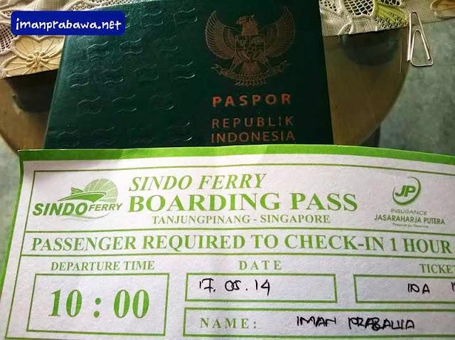 Tanjung Pinang Ke Singapura