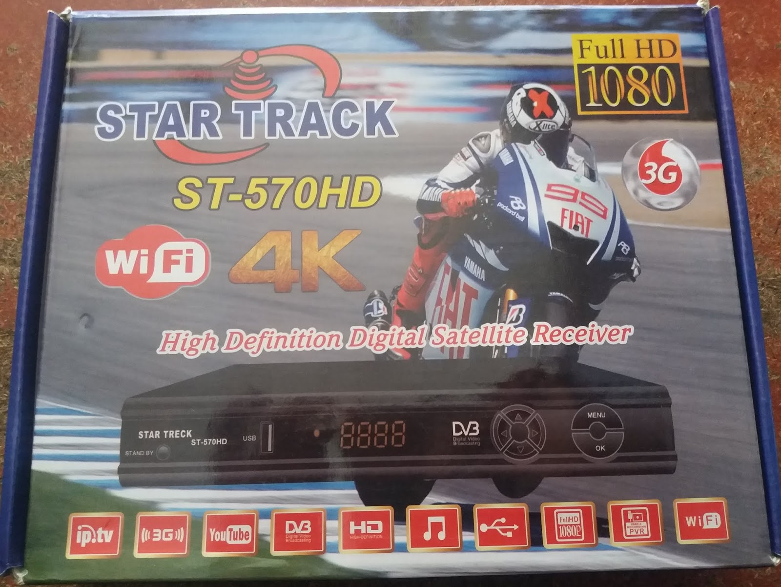 All Dish Receiver Software: STAR TRACK ST-570 HD RECEIVER