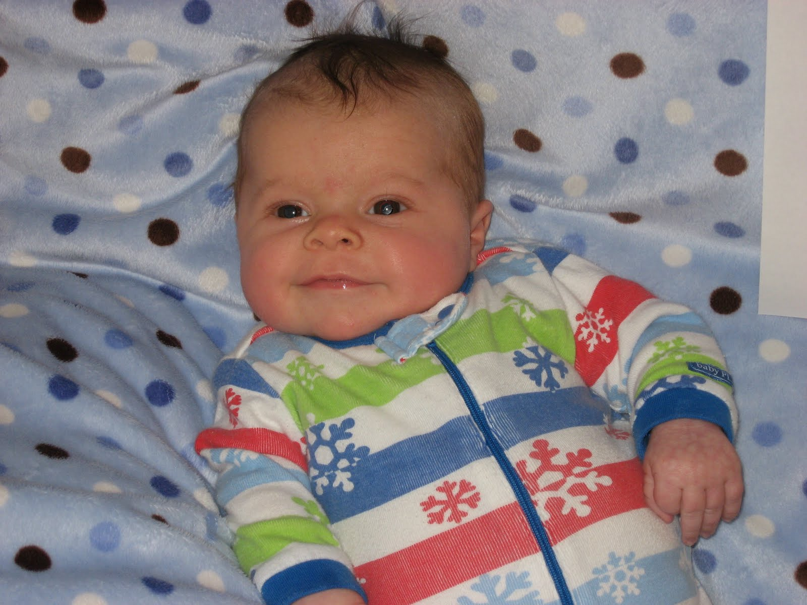 Baby Oliver 2 Months Old