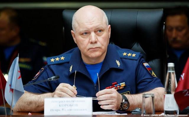 Korobov head of Russia's military intelligence agency dies