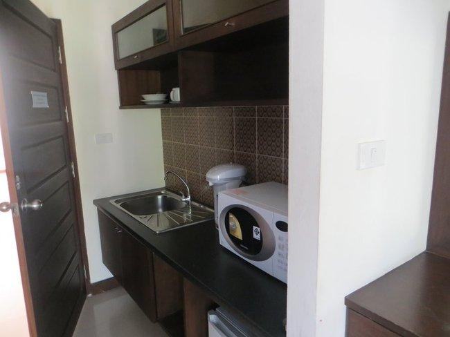 Маленькая кухня в номере