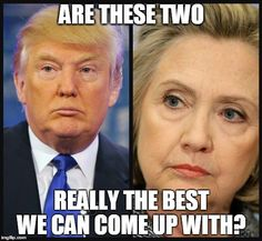 Donald Trump Hillary Clinton cake joke magic trick Are these two really the best can can come up with