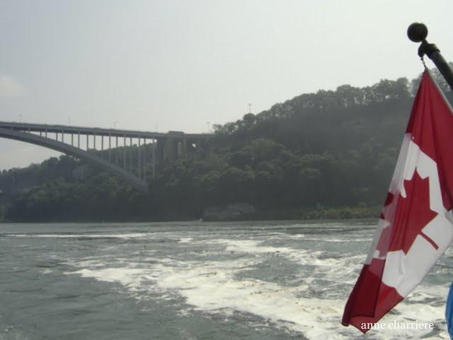 www.annecharriere.com, anne charriere voyage, niagara falls, canada, usa,
