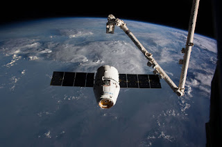 SpaceX-CRS-16 Dragon craft departs from International Space Station