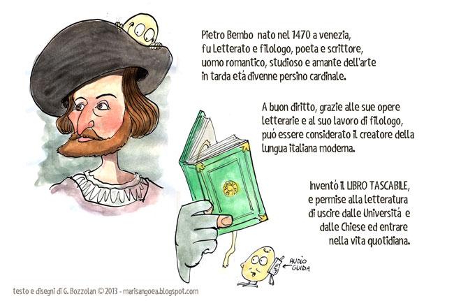 pietro bembo e il primo libro tascabile