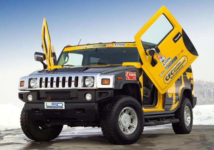 Revis 227 O Do Carro Hummer H2