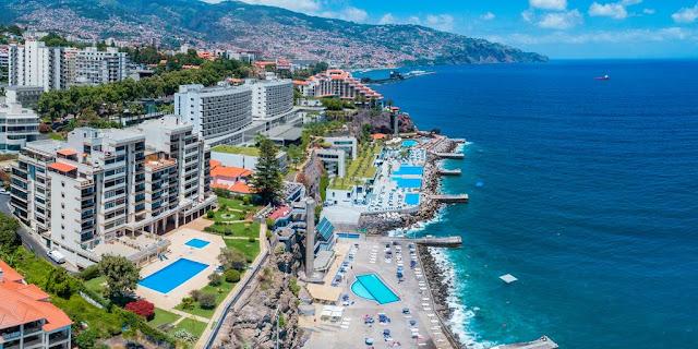 Vista do Funchal na Madeira