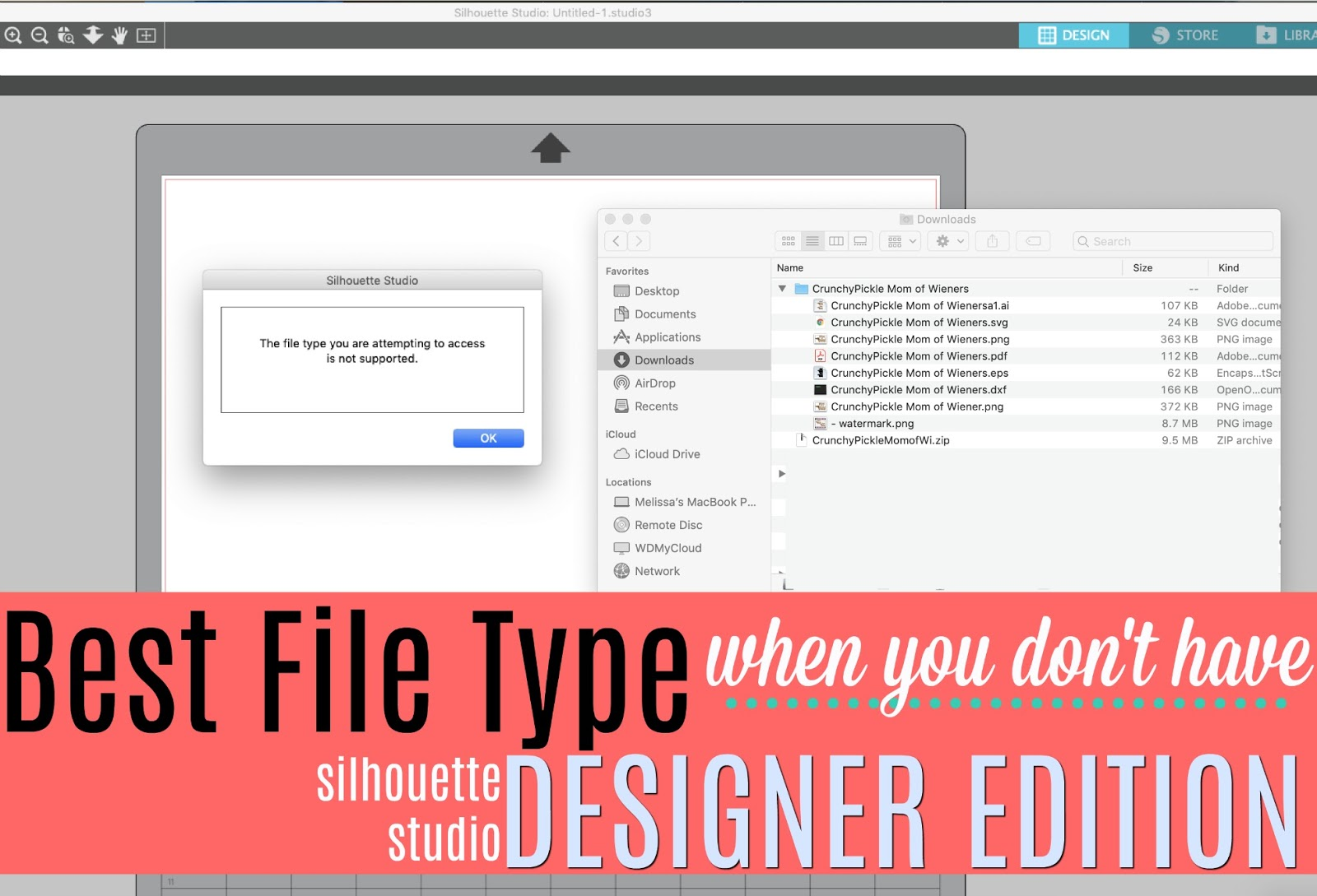 Best File Type For Silhouette When You Don T Have Designer Edition Silhouette School