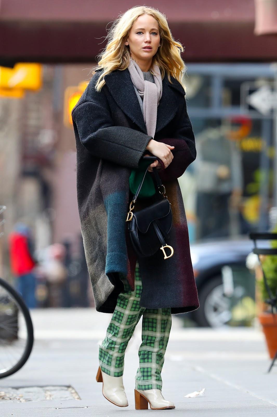 Jennifer Lawrence at Via Carota in NYC - 01/29/2019