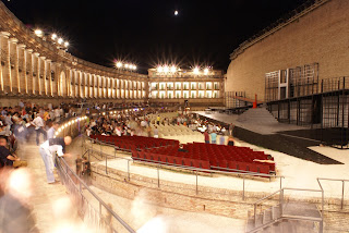 Macerata hosts the Sferisterio Opera Festival every summer