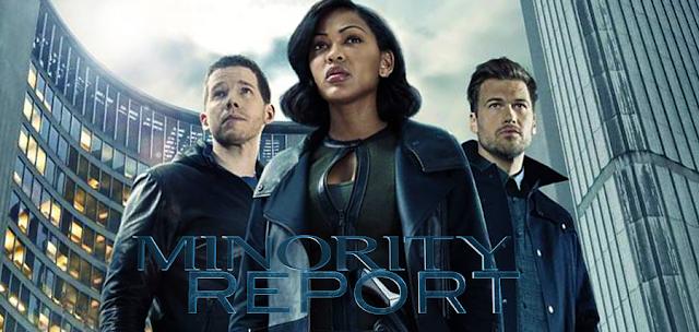 Personajele principale ale noului serial sci-fi, Minority Report