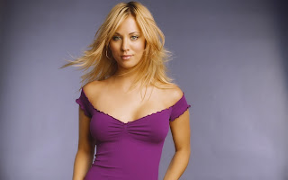 Kaley Cuoco nice hair style images
