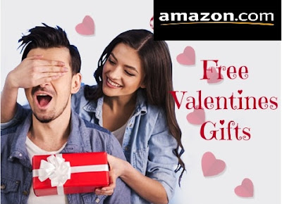 Get Amazing Valentine's Day free Gifts (100% Off Coupon)  From Amazon