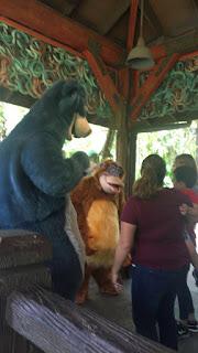 King Louie and Baloo Animal Kingdom
