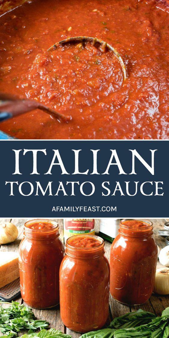 ítalían Tomato Sauce