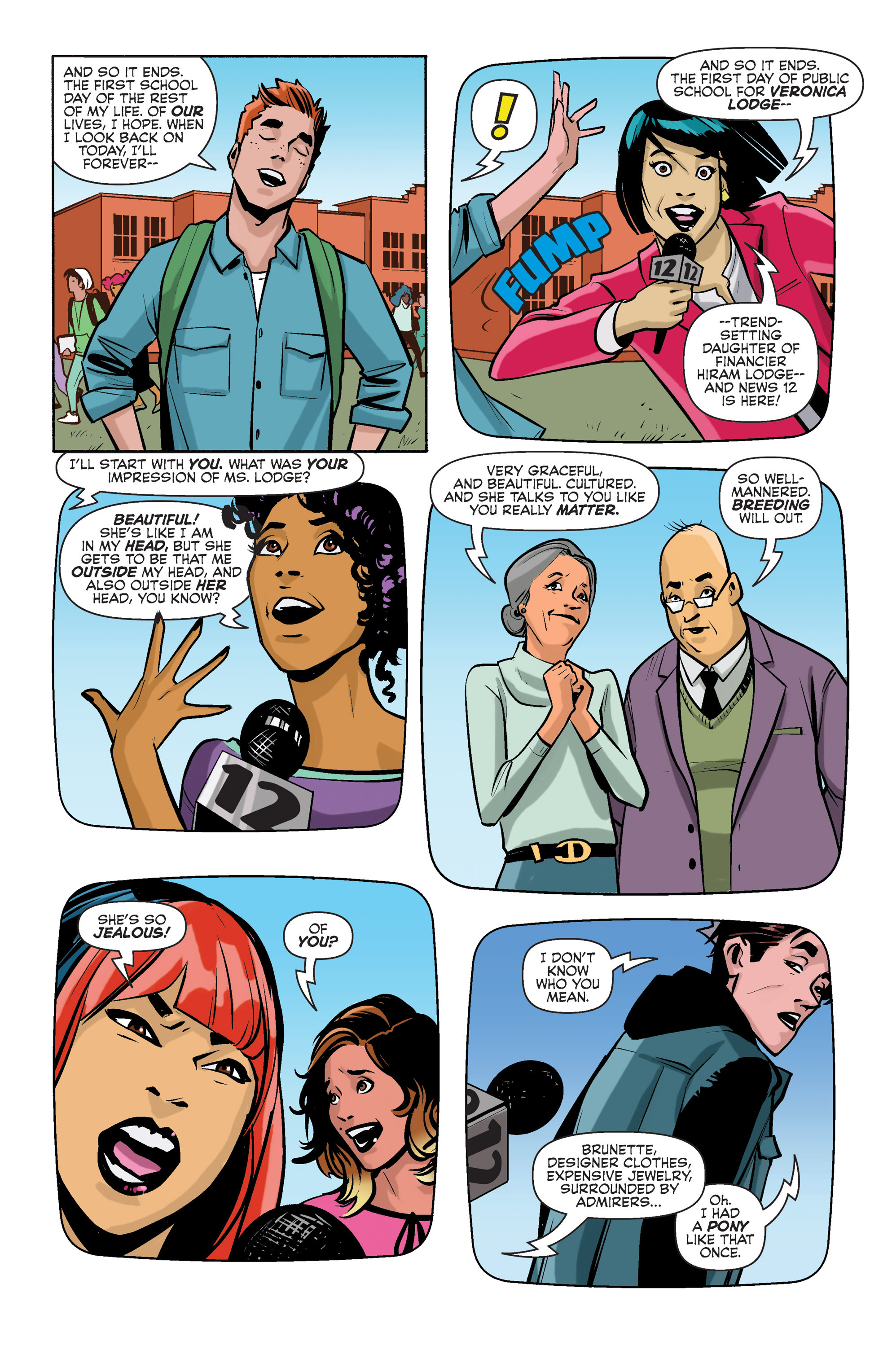 Read online Archie (2015) comic -  Issue #3 - 22