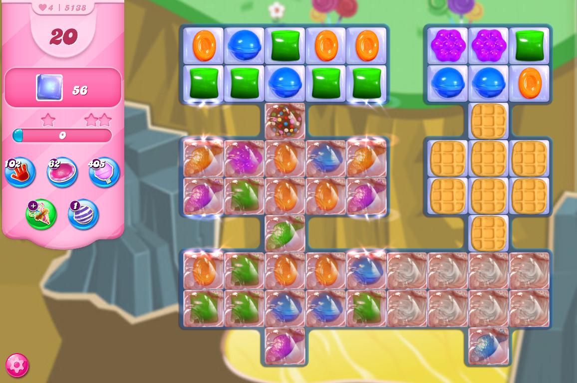 Candy Crush Saga level 5138