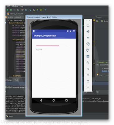 Android Studio - ProgressBar
