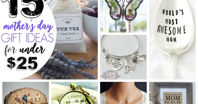 Mother 39 S Day Gift Ideas Under 25 Diy Beautify