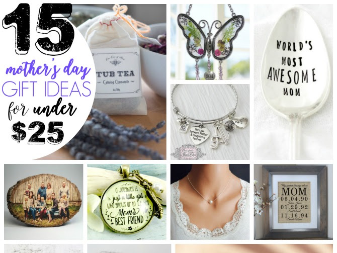 Mother's Day Gift Ideas Under $25