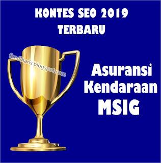 Kontes SEO MSIG Indonesia