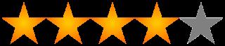 Resultado de imagen para 4/5 estrellas