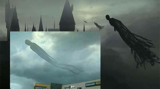 'Dementor' aparece en África, residentes están aterrorizados